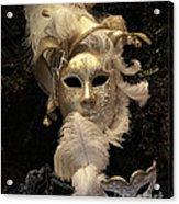 Venetian Face Mask B Acrylic Print