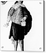 Venetian Man, 18th Century Acrylic Print