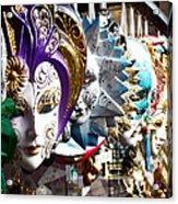 Venetian Masks 1 Acrylic Print