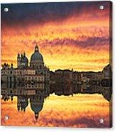 Venetian Reflections Acrylic Print