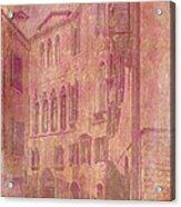 Venetian Rose Water Acrylic Print