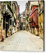 Venetian Street Acrylic Print