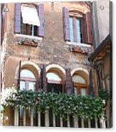 Venetian Veranda Acrylic Print