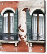 Venetian Window Acrylic Print