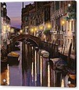 Venezia Al Crepuscolo Acrylic Print