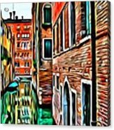 Venezia Mi Amor Acrylic Print