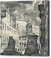 Venice. A View From The Other Bridge Acrylic Print
