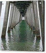 Venice Beach Pier Structure Acrylic Print