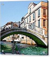 Venice Bridge Acrylic Print