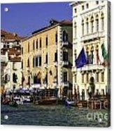 Venice Buildings Acrylic Print