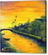 Venice California Canal Acrylic Print
