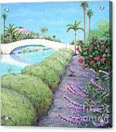 Venice California Canals Acrylic Print