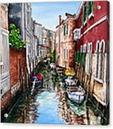 Venice Canal 4 Acrylic Print