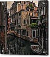 Venice Canal 8 Acrylic Print