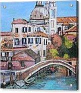 Venice Canals Acrylic Print