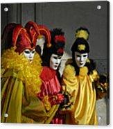 Venice Carnival Acrylic Print
