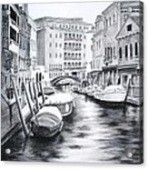 Venice City Of Love Acrylic Print