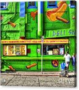 Venice Deli Acrylic Print by Kip Krause