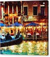 Venice Glow Acrylic Print