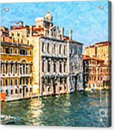 Venice - Grand Canal Acrylic Print