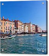 Venice Grand Canal View Italy Acrylic Print