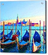 Venice Hues Acrylic Print