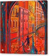 Venice Impression Viii Acrylic Print by Xueling Zou