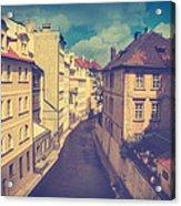 Venice In Prague Acrylic Print