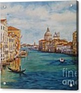Venice In The Afternoon Acrylic Print