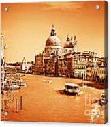 Venice Italy Grand Canal Acrylic Print