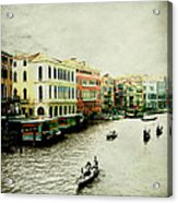 Venice Italy Magical City Acrylic Print