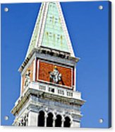 Venice Italy - St Marks Square Tower Acrylic Print