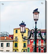 Venice Lamp Acrylic Print
