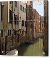 Venice Laundry Day Acrylic Print
