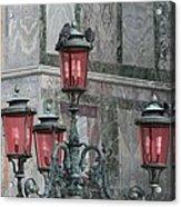 Venice Lights By Day Acrylic Print