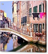 Venice Living Acrylic Print