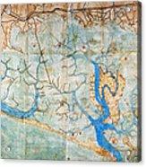 Venice: Map, 1546 Acrylic Print