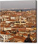 Venice Italy - No Canals Acrylic Print