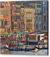 Venice Palazzi At Sundown Acrylic Print