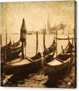Venice Postcard Acrylic Print