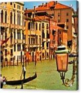 Venice Street Lamp Acrylic Print
