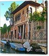 Venice Streetscape Acrylic Print