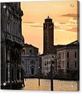 Venice Sunrise  Acrylic Print