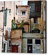 Venice Temple Acrylic Print