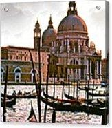 Venice The Grand Canal Acrylic Print