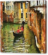 Venice View Acrylic Print by Cary Shapiro