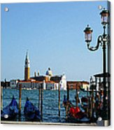 Venice View On Basilica Di San Giorgio Maggiore Acrylic Print