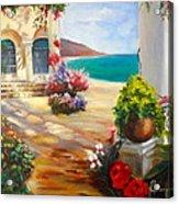Venice Villa Acrylic Print