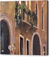 Venice Windows Acrylic Print