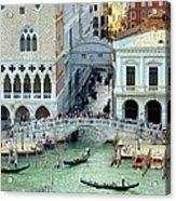 Venice's Bridge Of Sighs Acrylic Print